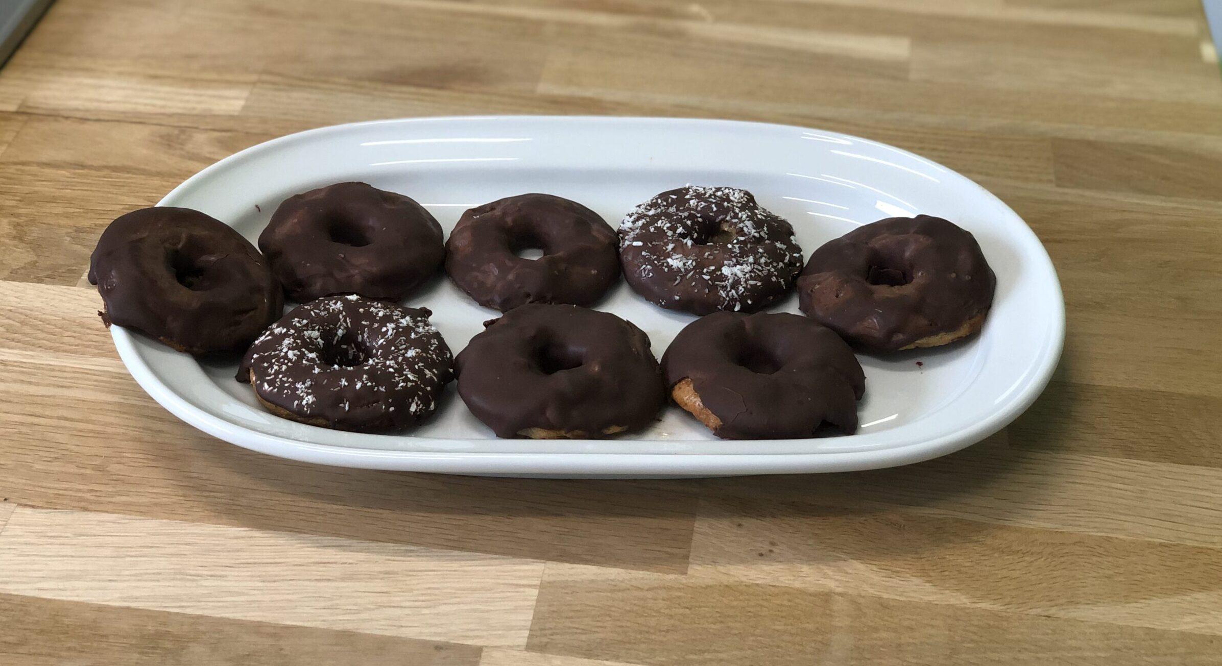 Donuts de cacao