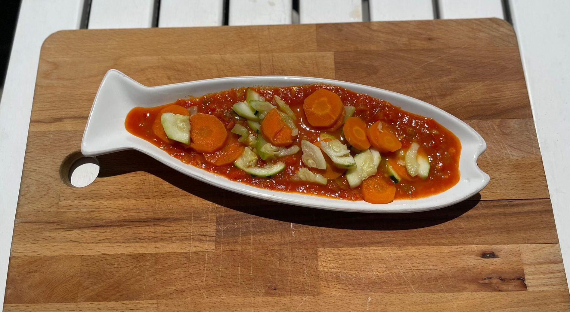 pisto de verduras Centro Dietético