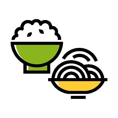 Arroz y pasta