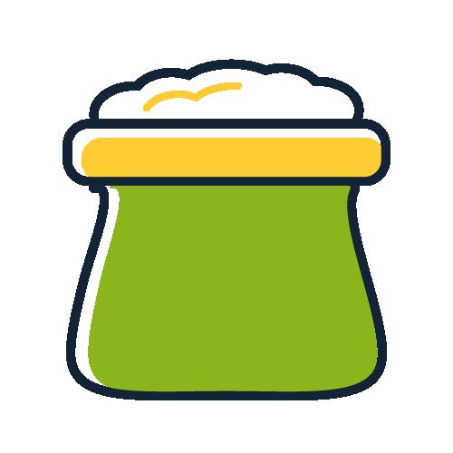 Plantas en bolsa