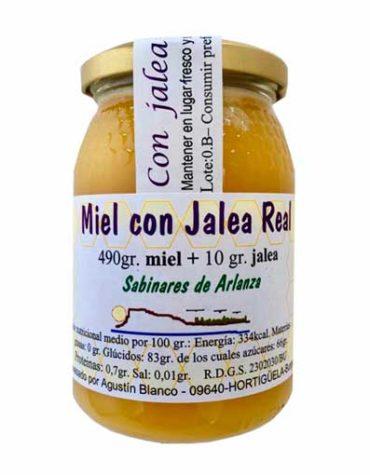 miel con jalea real sabinares de arlanza