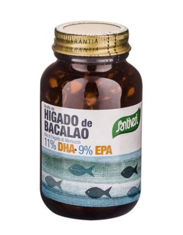 Baja los niveles de colesterol ACEITE HIGADO BACALAO PERLA500