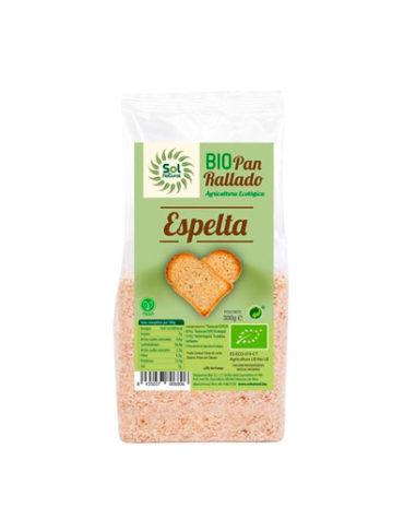 Disfruta de nuestro pan BIO PAN RALLADO DE ESPELTA 300 GR