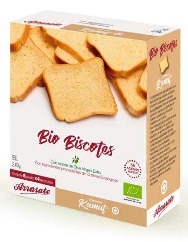 Disfruta de nuestro pan BISCOTES KAMUT BIO 270 GR