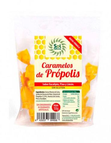 Endulzate con los caramelos y gominolas CARAMELOS DE PROPOLIS 50G S/A
