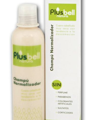 Cuidate con nuestros productos de línea capilar CHAMPU NORMALIZADOR DE PLUSBELL