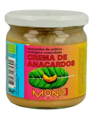Descubre nuestras sales, condimentos y salsas CREMA DE ANACARDOS TOSTADA 330 grs
