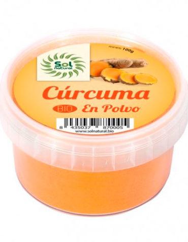 Descubre nuestras sales, condimentos y salsas CURCUMA EN POLVO BIO 100grs