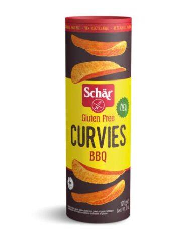 Descubre nuestros productos para celiacos CURVIES BBQ 170G