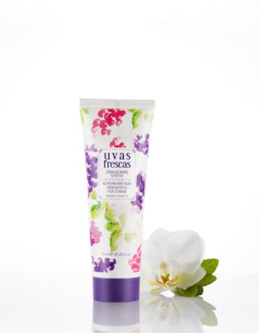 Cuidate con nuestros productos de línea corporal Crema de manos de uva BIO 75mL