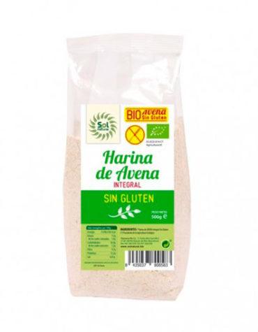 Descubre nuestras harinas y sémolas HARINA DE AVENA SIN GLUTEN 500 GR BIO