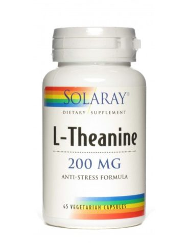 Relaja y controla tu sistema nervioso L-THEANINE 200 MG - 45 CAP