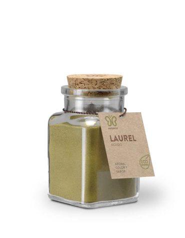 Descubre nuestras sales, condimentos y salsas LAUREL MOLIDO 60GRS BIO VEGANO