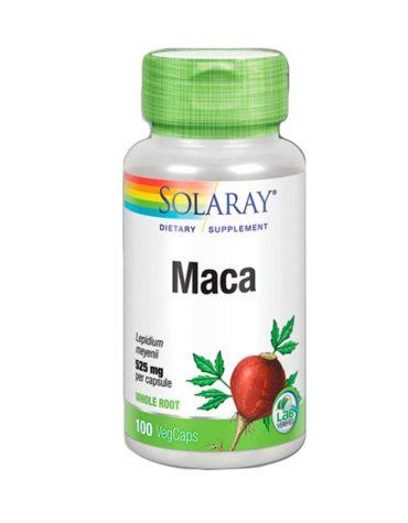 Carga las pilas con jaleas y energeticos MACA 525mg 100cap