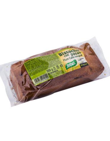 Disfruta de la repostería y chocolates PLUM CAKE INTEGRAL BOLSA 300GR