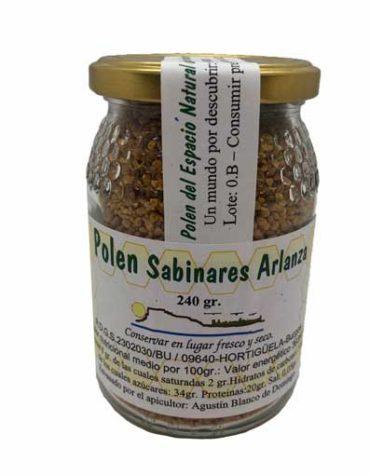 Descubre nuestra miel y polen POLEN SABINARES 250GR