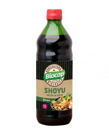 Descubre nuestras sales, condimentos y salsas SALSA SOJA SHOYU BIOCOP BIO500 ML