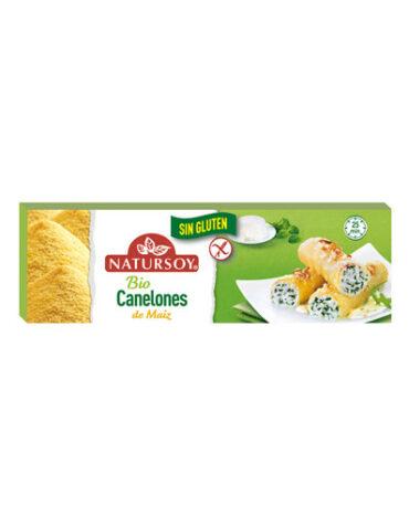 Descubre nuestros productos para celiacos CANELONES DE MAIZ BIO 250 GR
