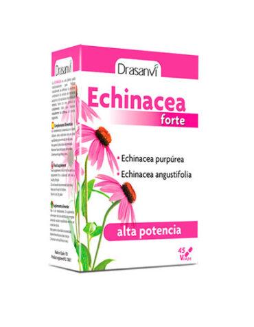 Rerfuerza tu sistema inmunológico ECHINACEA FORTE 45 CÁPSAULASS
