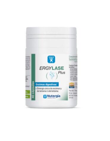 Ayuda a tu digestivo con nuestros digestivos ERGYLASE PLUS 40 CAPSULAS