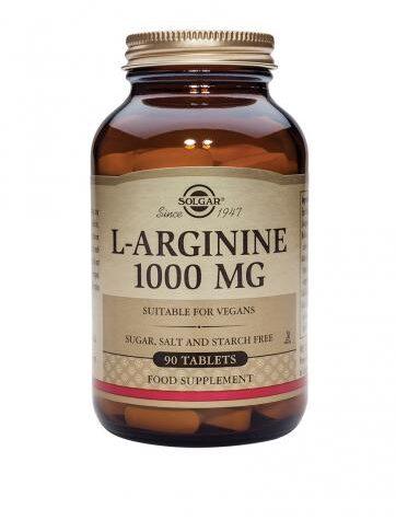 Carga las pilas con vigorizantes L-ARGININA 1000 mg 90 Comprimidos