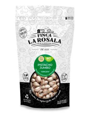 Descubre nuestros aperitivos y frutos secos PISTACHO JUMBO NATURAL 150 GRS BIO S/GLUTEN VEGANO