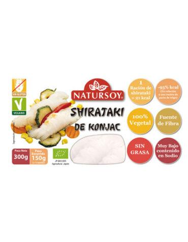 Disfruta del arroz y pasta SHIRATAKI DE KONJAC 150 grs