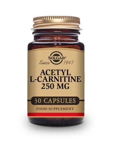 Para el control de peso ACETIL L-CARNITINA 250 mg
