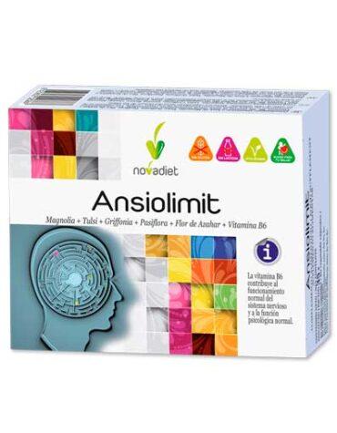 Relaja y controla tu sistema nervioso ANSIOLIMIT 60 CAP VEGETALES