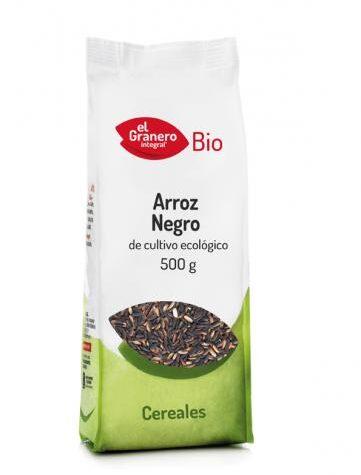 Disfruta del arroz y pasta ARROZ NEGRO BIO, 500 g