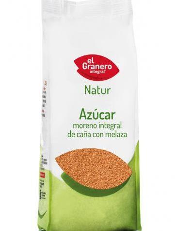 Pon tu punto dulce con azucar y endulzantes AZÚCAR MORENO INTEGRAL DE CAÑA CON MELAZA, 1 KG