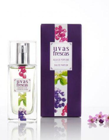 Cuidate con nuestros productos de línea corporal Agua de perfume de uva BIO 50ml