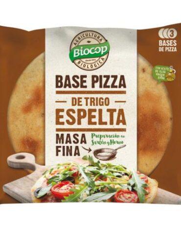 Disfruta de nuestro pan BASE PIZZA MASA FINA ESPELTA 390G