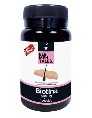Cuidate con las vitaminas BIOTINA 120 COMPRIMIDOS