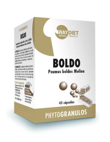 Seleccionamos las mejores plantas en comprimidos BOLDO PHYTOGRANULOS