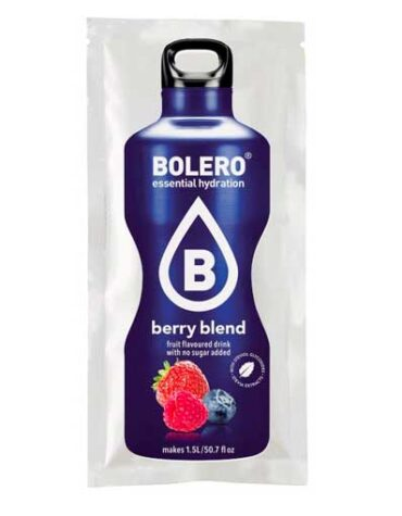 Descubre nuestras bebidas BOLERO BERRY BLEND BAYAS BOBRE 9 GRS