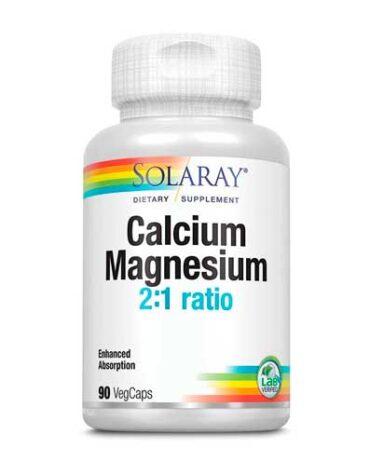 Cuida de tus huesos y articulaciones CALCIO MAGNESIO 90 CAPS