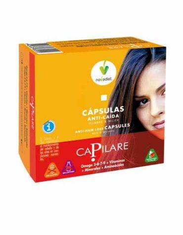 Cuidate con nuestros productos de línea capilar CAPILARE CAPSULAS ANTI CAIDA 60CAPS