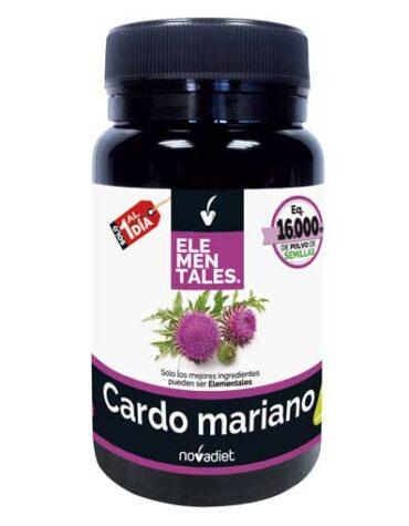Seleccionamos las mejores plantas en comprimidos CARDO MARIANO 30 CÁPSULAS