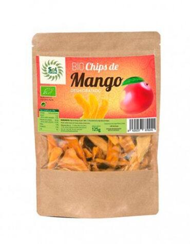 Descubre nuestros aperitivos y frutos secos CHIPS DE MANGO DESHIDRATADO 125 GR. BIO