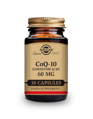 Cuidate con los antioxidantes COENZIMA Q10 60MG 30CAR