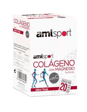 Cuida de tus huesos y articulaciones COLAGENO+MAGNESIO FRESA 20 sticks