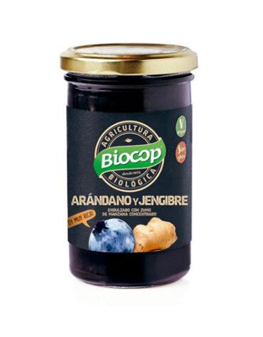 Descubre nuestras mermeladas COMPOTA ARANDANOS JENGIBRE BIOCOP 280 G