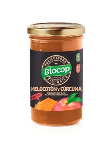 Descubre nuestras mermeladas COMPOTA MELOCOTON CURCUMA BIOCOP 280 G