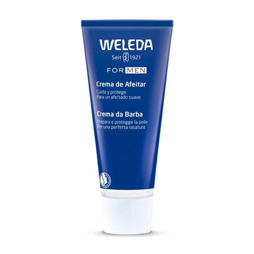 Cuidate con nuestros productos de línea facial CREMA DE AFEITADO SUAVIZANTE BIO 75 ml