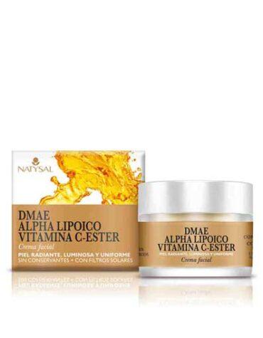 Cuidate con nuestros productos de línea facial CREMA DMAE+ALFHALIPOICO+VIT C 50 ML