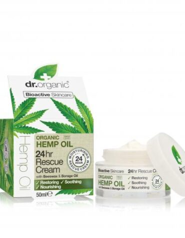 Cuidate con nuestros productos de línea facial Crema rescate 24 hr de aceite de cáñamo 50ml