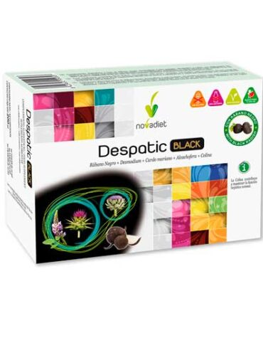 Desintoxica con los depurativos DESPATIC BLACK 20 VIALES DE 10ML