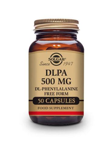 Relaja y controla tu sistema nervioso DLPA 500 mg. Cápsulas Vegetales.