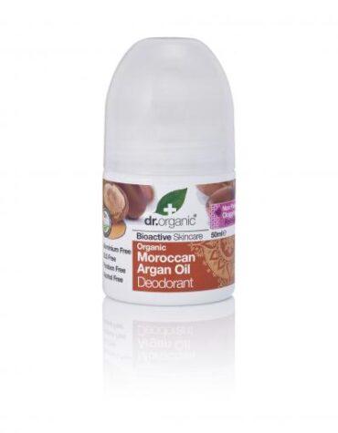 Cuidate con nuestros productos de línea corporal Desodorante de aceite de Argán 50ml